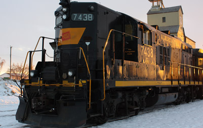 Alberta Prairie locomotive